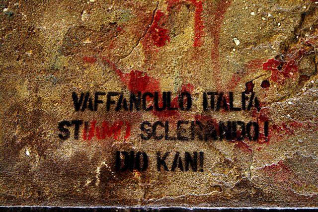 da un muro veneziano